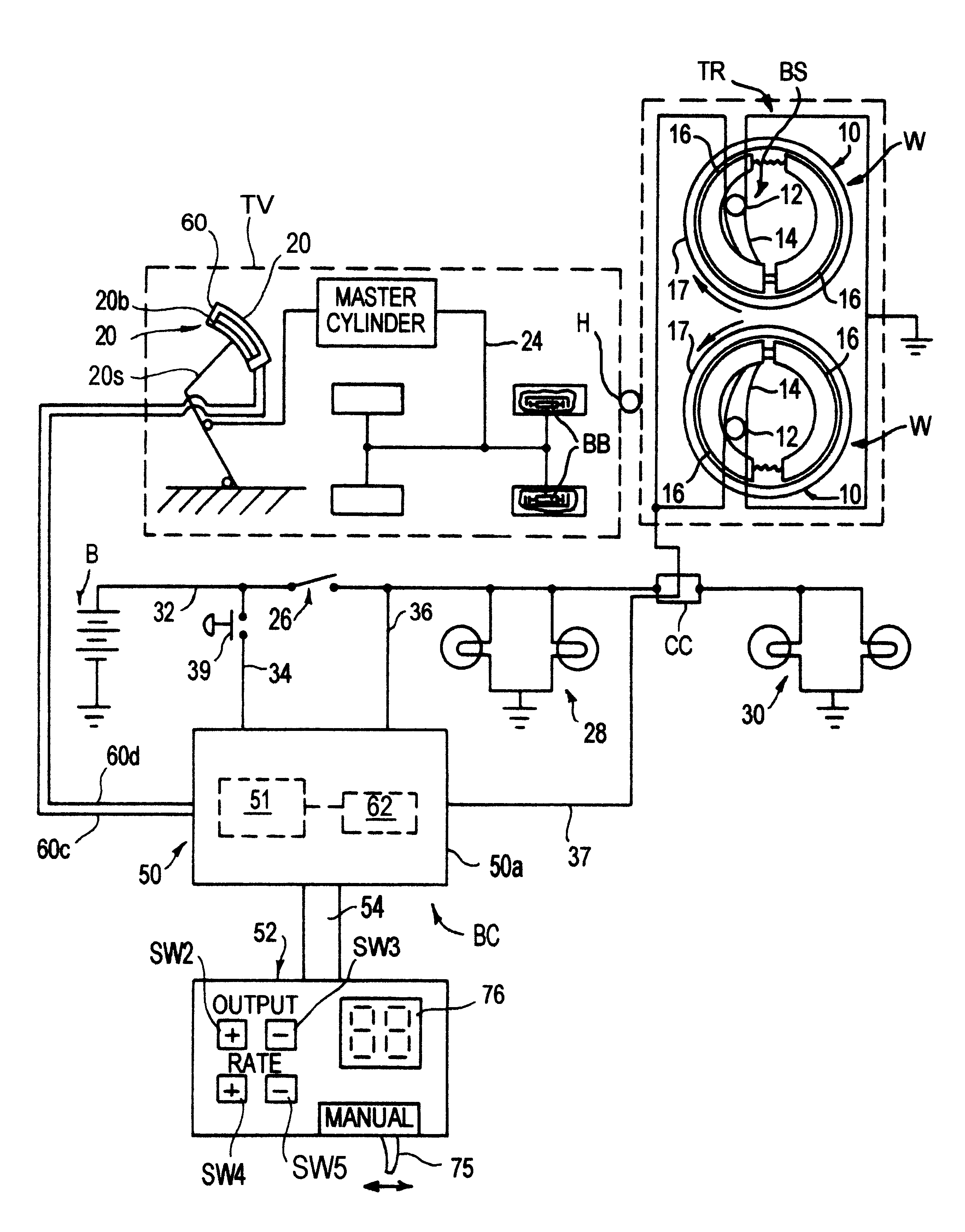 Analytics For Us Patent No 6179390 Electronic Trailer Brake Controller Wire Leads To Provide Additional Functions Such As Powering Wiring Harness A Main Control Unit That Is Attached The Vehicle Hidden Out Of Sight And Hard Wired Electrical System