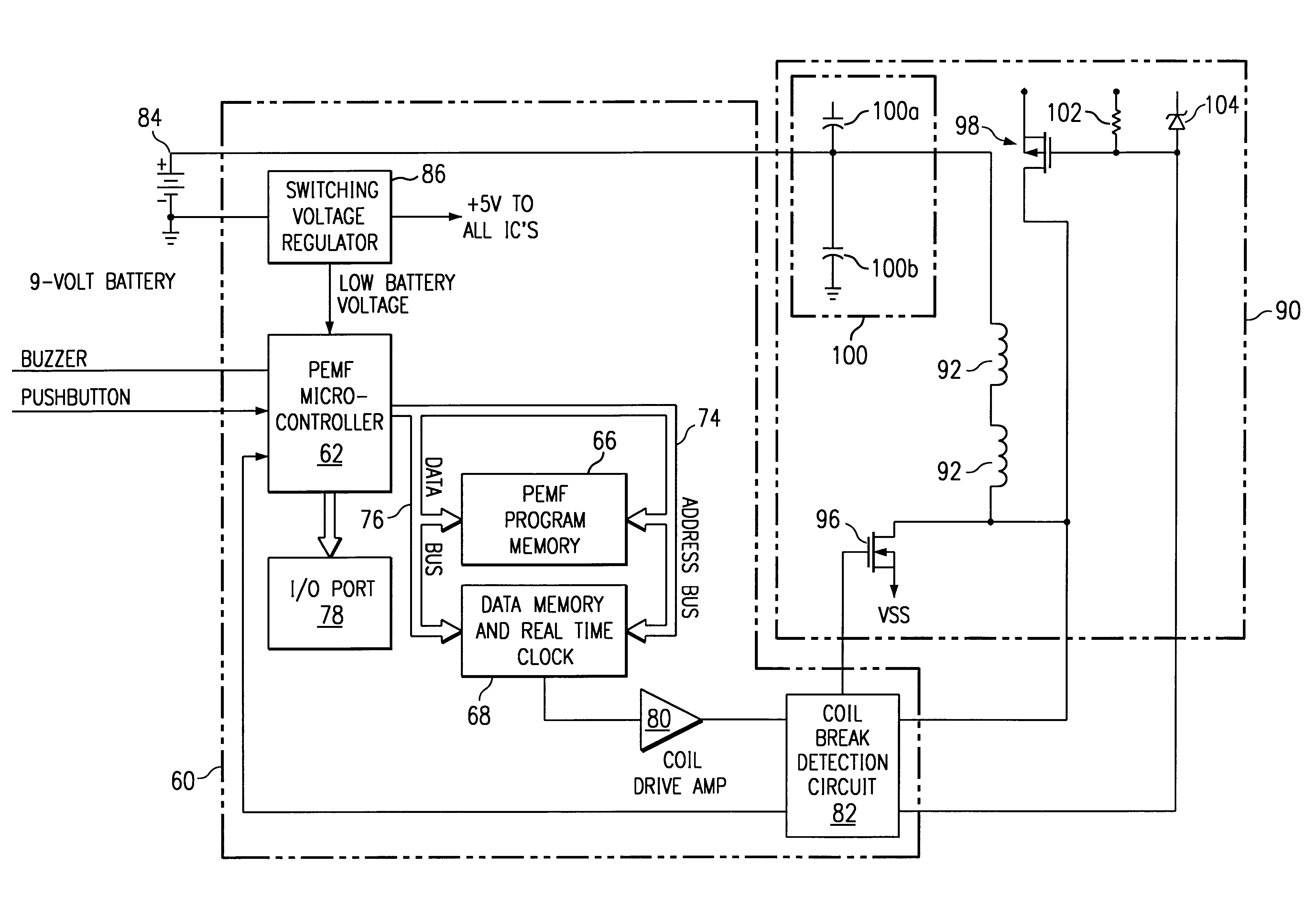 Analytics For Us Patent No 6261221 Flexible Coil Pulsed Magnetic Chuck Wiring Diagram The Single Transducer May Be Fabricated On A Substrate And Formed With Printed Circuit Techniques