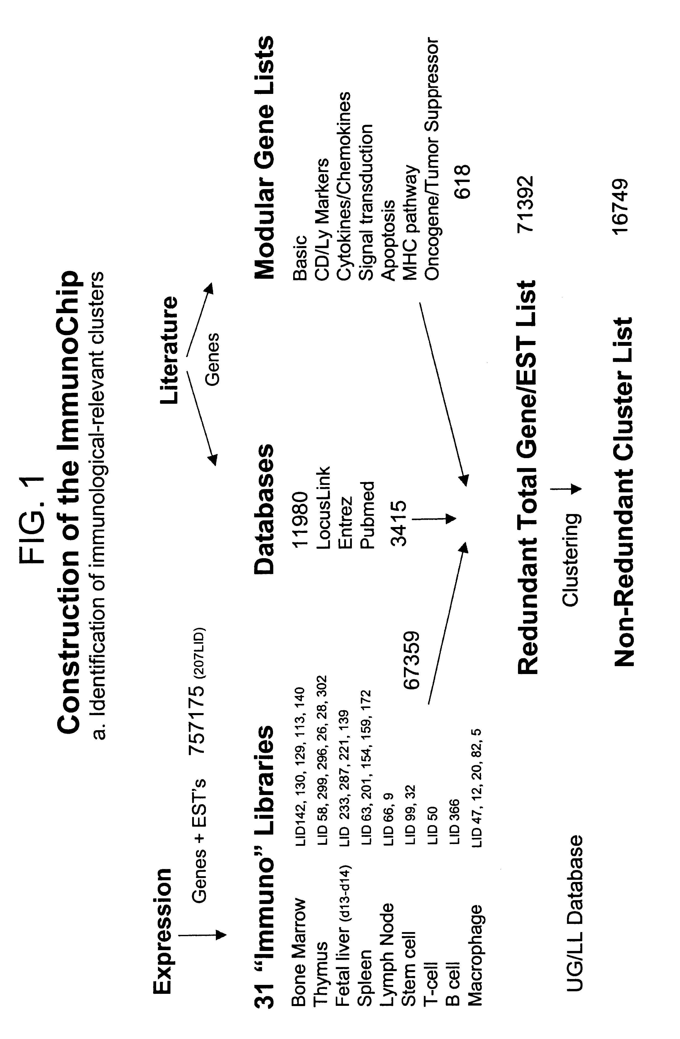 Analytics for US Patent No  6706867, DNA array sequence