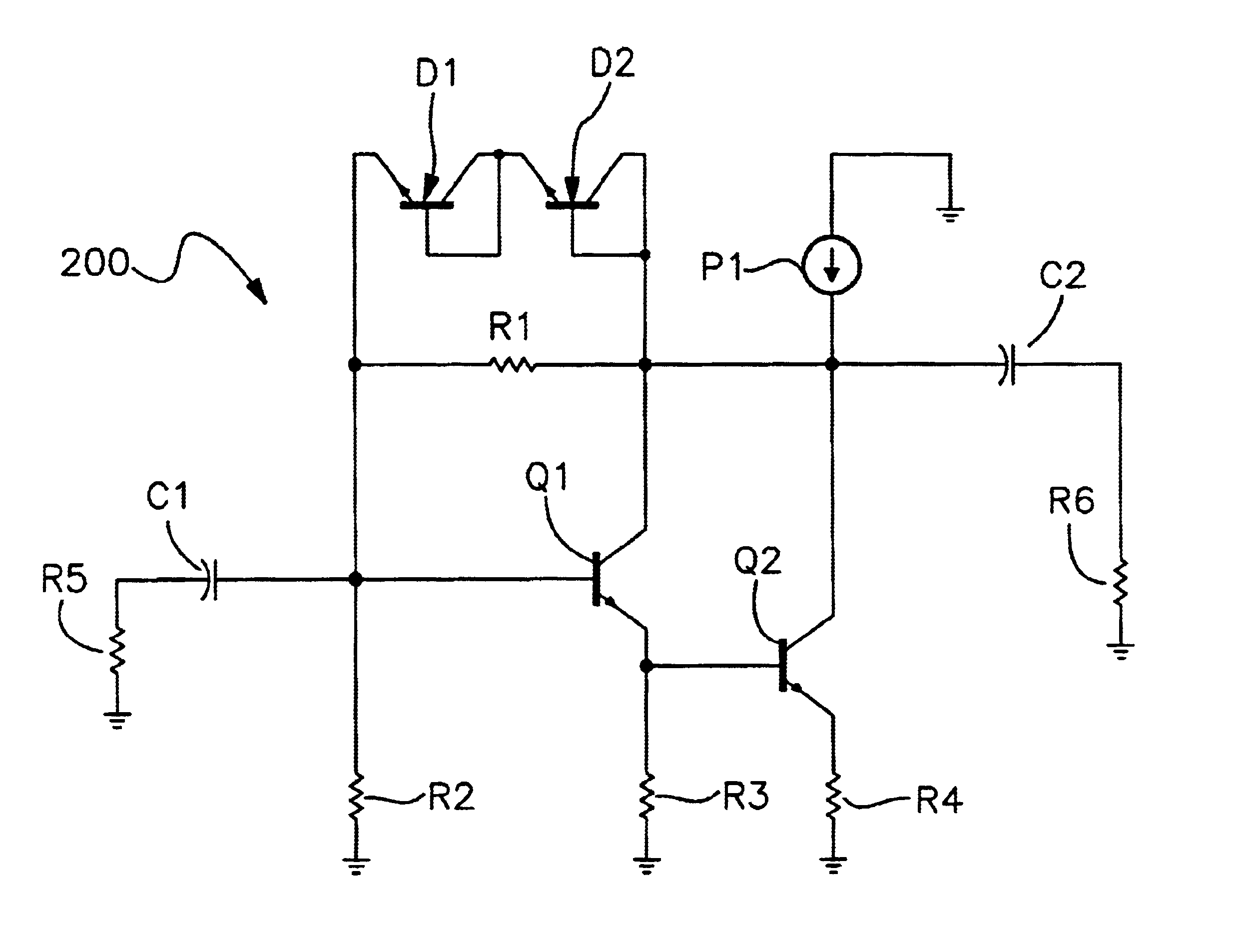 Analytics For Us Patent No 6943629 Transient Protection Circuit Of Npn Transistor Darlington Configuration The Output Capacitor Has A Larger Capacitance Than Input Such That Excessive Voltage Is Prevented From Developing On Transistors