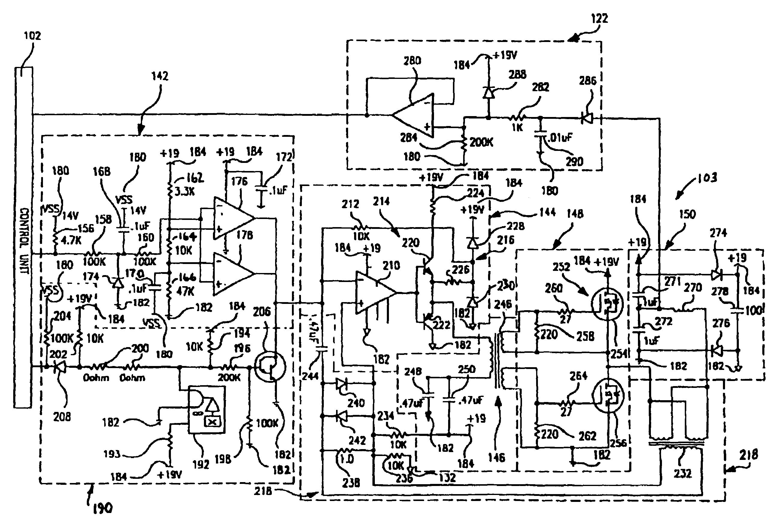 Analytics For Us Patent No 7180248 Inductively Coupled Ballast Circuit Current Limit The Disables When In Exceeds A Predetermined Threshold Or Falls Outside