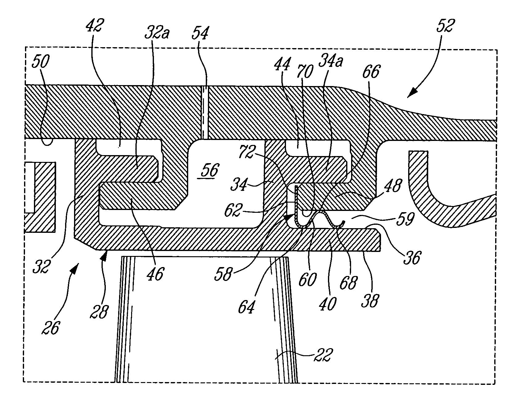 Analytics for US Patent No Gas turbine engine shroud
