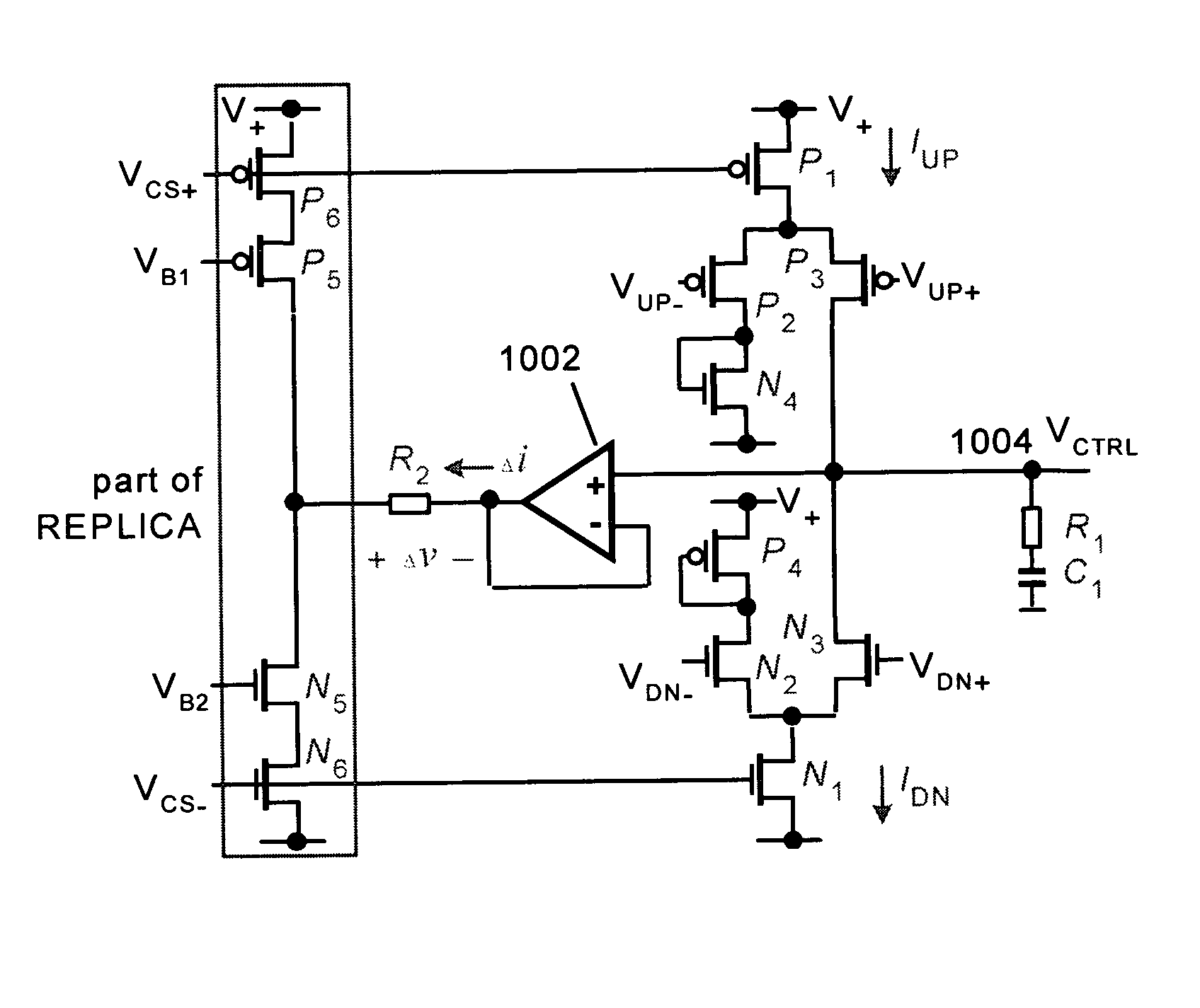 Analytics For Us Patent No 7382849 Charge Pump Circuit Rc Circuits Charging Coupled To The Core Minimize Difference Between Up And Down Currents Generated By