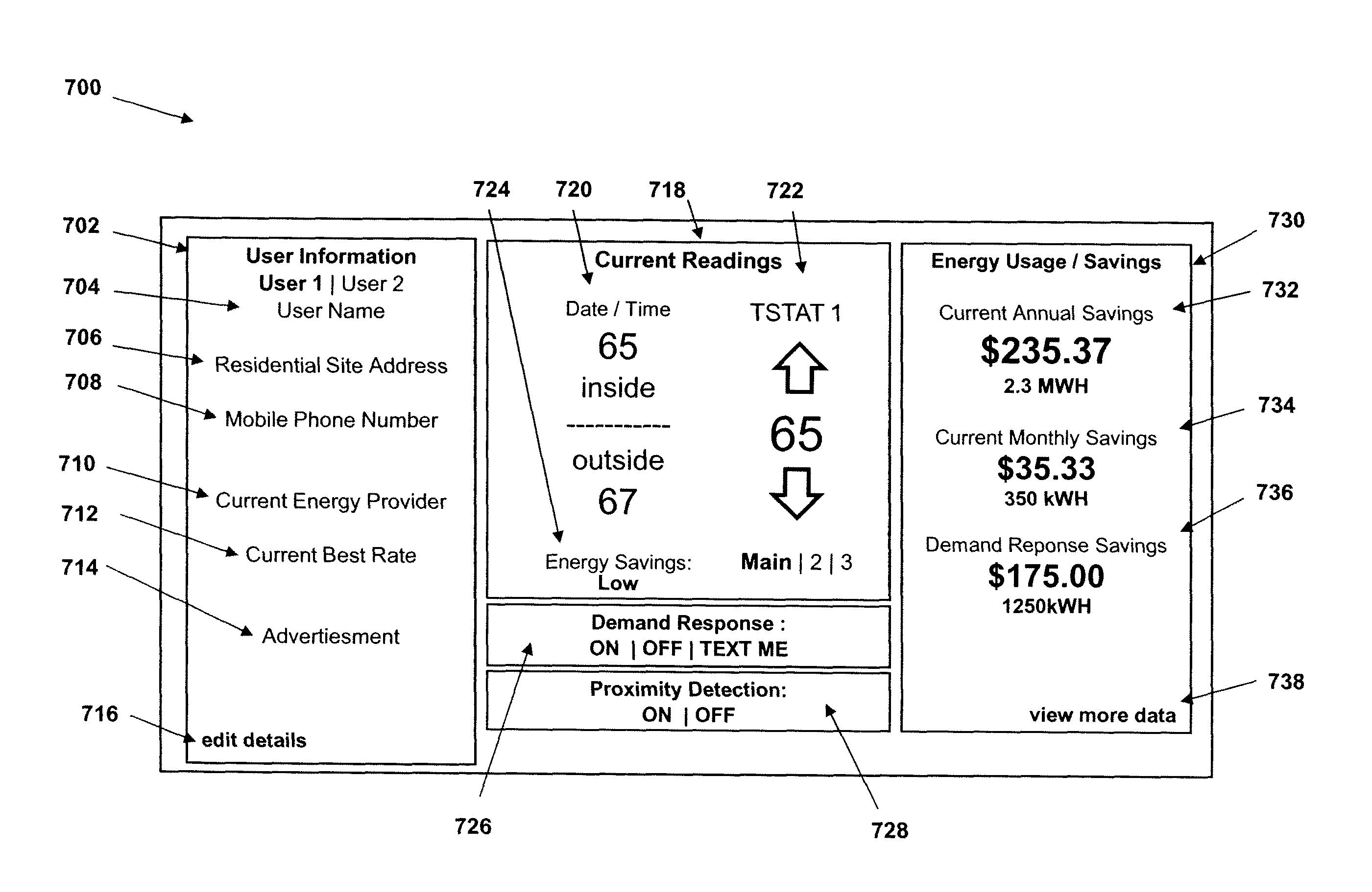 Analytics for US Patent No  8442695, Auto-adaptable energy