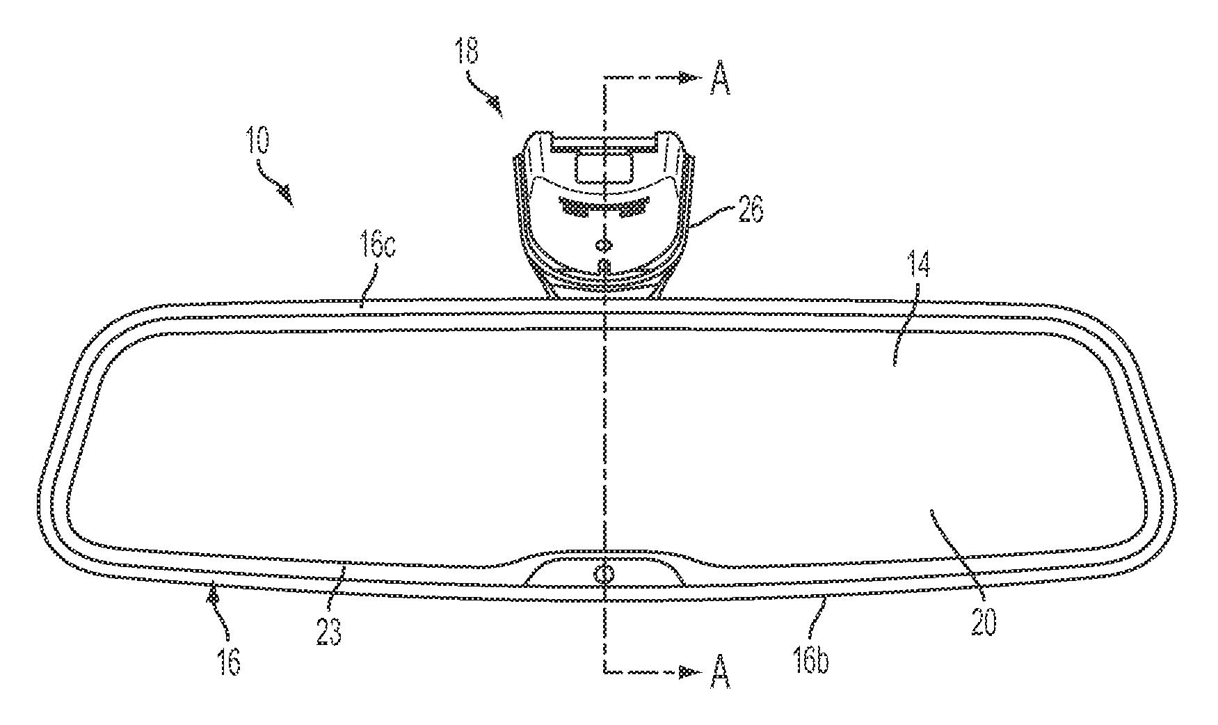 ytics for US Patent No. 9090212, Frameless interior ... on