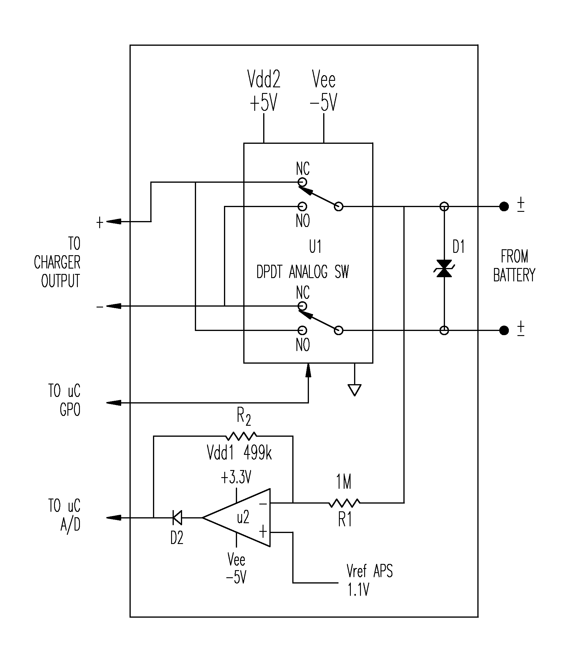 The Polarity Control Relay Is Switched Off When Q1 Covered By Analytics For Us Patent No 9263903 Detecting And Switching Battery Controlled Using An Output Of Microcontroller To Present Proper Charging Circuit Based On Unipolar Voltage